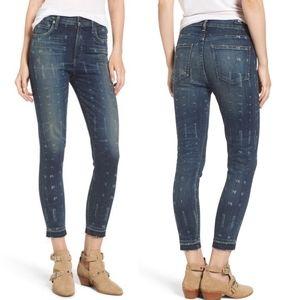 Citizens Rocket Highrise Skinny Crop Jean size 25